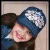 Джинсовая кепка «Гламур»