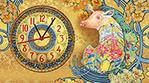 Символ года-свинка -модерн