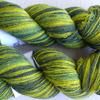 Kauni 8/1 цвет green-yellow, цена за 100 гр