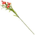 """Букет """"Гвоздика"""" 70см, цветки из ткани, розовый"""