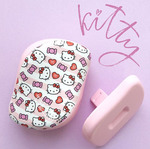 Расческа Tangle Teezer Compact Styler Hello Kitty Candy Stripes