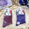 Носки женские р-р 23-25 (12) Арт. MJ KAERDAN однотонные Девушка нарисованная в шляпе (к.2172)