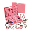 Ladies' Pink Hardware SteelTec Tool Kit - 105 Pc, Pink