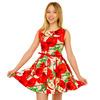 Платье Квинти, красный 1519000001: Tashkan
