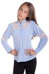 Блуза Брианна, голубой 1418000001: Tashkan