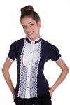 Блуза Далия, синий 1417000001: Tashkan