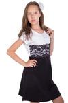 Платье Линет, черный 1467000002: Tashkan