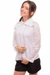 Блуза Регина, белый 1463000001: Tashkan