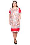 Платье БР Бязь с контрастными вставками