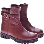 Подростковые кожаные ботинки (байка/экомех/цигейка - на выбор)