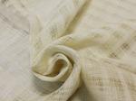Ткань декоративная, ширина 165см, лен-100% (клетка)