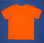 Футболка кулирка оранж размер 134,140-72 (в наличии 1 шт) ОТДАЮ БЕЗ ОРГ%