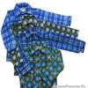 Сорочка фланель клетка (цвет в ассортименте) длинный рукав размер  134,140-34  (1 шт)ОТДАЮ БЕЗ ОРГ%