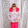 "Зимний комплект для девочки ""Девочка"""