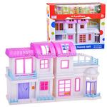 """Домик для кукол 08769 """"My Happy Home Set"""" на батарейках, в коробке"""