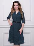 Платье Леди Ди (фикс, с ремешком)