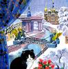 Картина по номерам Номерашка (Paintboy) «вид на заснеженый санкт-петербург из окна»