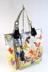 сумка VELINA FABBIANO 68333-60 цвет сливочный, комбинированный