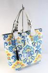 сумка VELINA FABBIANO 68333-85 цвет белый, комбинированный