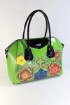 сумка VELINA FABBIANO 68600-50 цвет зелёный, комбинированный