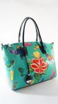 сумка VELINA FABBIANO 69921-16 цвет бирюзовый,комбинированный