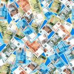 Ваф.полотно шир.150см Банкноты
