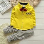 Комплект с желтой рубашкой