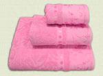 """Полотенца махровые комплект """"Св. розовый"""" из 3 шт"""