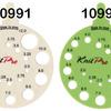 k038 Линейка круглая для определения номера спиц