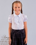 Блуза для девочки Модель 01/7-к