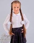 Блуза для девочки Модель 02-д