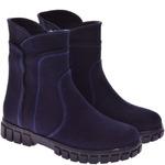 Подростковые ботинки из нубука (байка/экомех/цигейка - на выбор)
