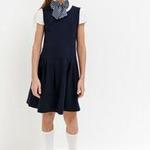 Платье детское для девочек Columbine темно-голубой