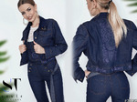 Желаешь найти универсальное дополнение своего гардероба? Тебе подойдет эта замечательная укороченная джинсовая куртка