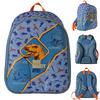 Рюкзак школьный ANIMAL PLANET Дино, 35 x 29 x 13 , анатомическая рельефн.спинка,светоот.элементы,