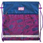 Мешок для обуви ANIMAL PLANET, разм. 39х43 cм, с карм. на молнии, со светоотр. полосками,для девочек