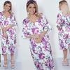 Стильное платье с яркими цветочными мотивами  48-58 р