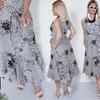 Красивое легкое и манящее платье без рукав 48-54
