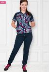 Костюм с брюками, интерлок-пенье (393)