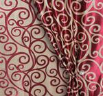 Портьера блекаут двусторонний Лэрри Артикул: 221/1803Z-10 красн+корич