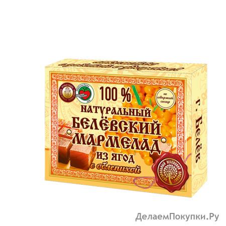 Натуральный мармелад с облепихой 230 грамм
