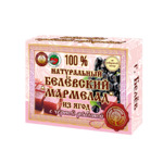 Натуральный мармелад с черной рябиной 230 грамм