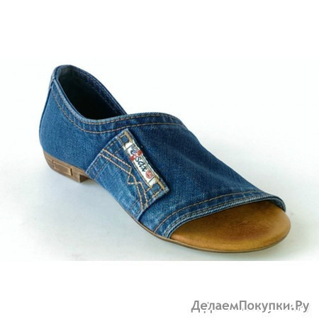 Туфли джинсовые 2052-e2