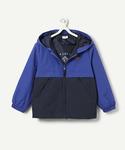 двухцветная куртка на молнии