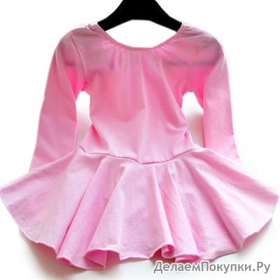 Детское платье для гимнастики