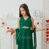 Платье нарядное для девочки арт. ИР-1410, цвет изумруд