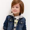 Жакет джинсовый детский для мальчиков Sega синий [20120130114#синий]