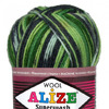 Пряжа Alize SUPERWASH 100 ALIZE цвет 2696 РЯД!!!!
