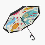 Зонт автоматический Funny Fish