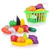 Набор Фрукты и овощи в корзинке